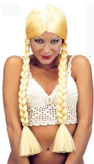 Bavarian Blonde 2 Plaits Wig